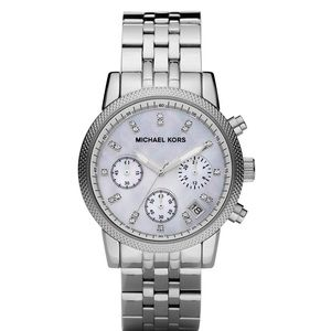 Michael Kors Ritz 5020 Silvertone Watch